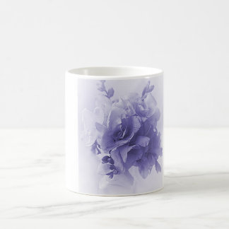 BLUE FREESIA BOUQUET COFFEE MUG