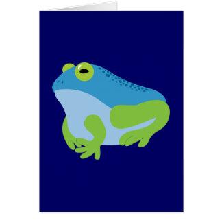 Blue Frog Card