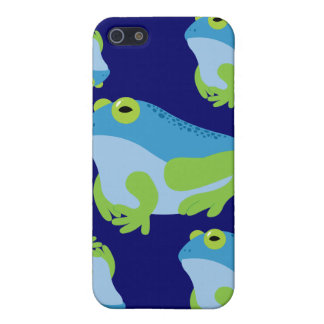 Blue Frog Cover For iPhone 5/5S