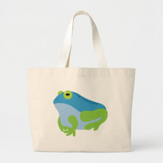 Blue Frog Jumbo Tote Bag