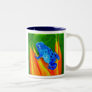 Blue Frog Mug