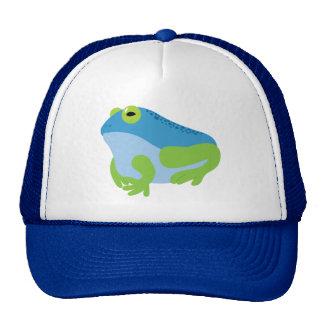 Blue Frog Trucker Hat