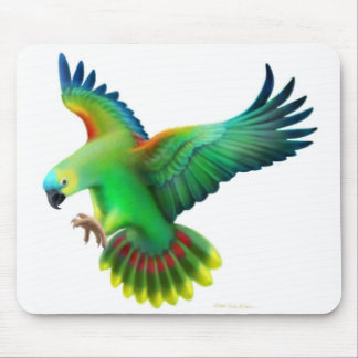 Blue Fronted Amazon Parrot Mousepad
