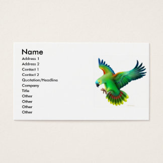 Blue Fronted Amazon Parrot Profile Card
