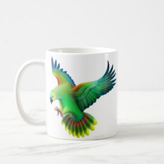 Blue Fronted Amazon Parrots Mug