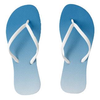 blue Frost flip flops
