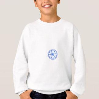 Blue Frosty Snowflake Sweatshirt
