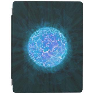 Blue frozen Planet iPad Cover