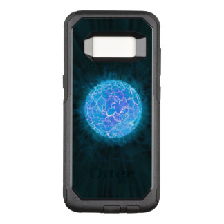 Blue frozen Planet OtterBox Commuter Samsung Galaxy S8 Case