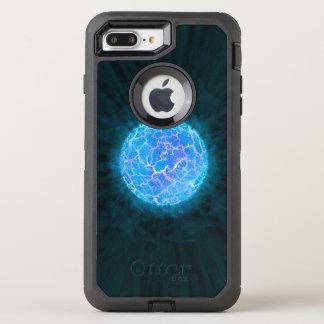 Blue frozen Planet OtterBox Defender iPhone 8 Plus/7 Plus Case