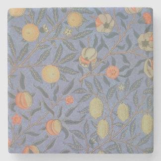 Blue Fruit' or 'Pomegranate' Stone Coaster
