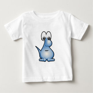 Blue funny monster animated creature t shirts