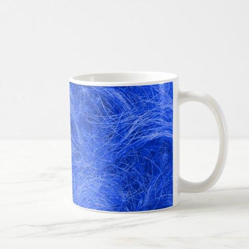 Blue Fur Coffee Mugs