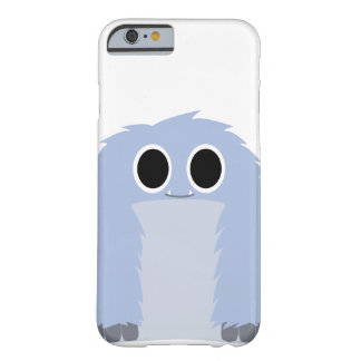 Blue Furry Monster Case Barely There iPhone 6 Case