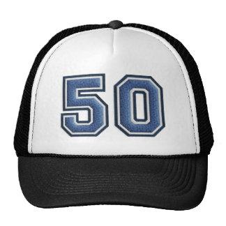 Blue Fuzz Number 50 Cap