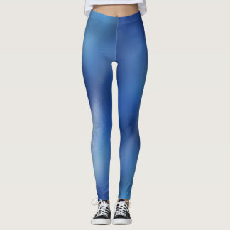 Blue Galaxy Leggings