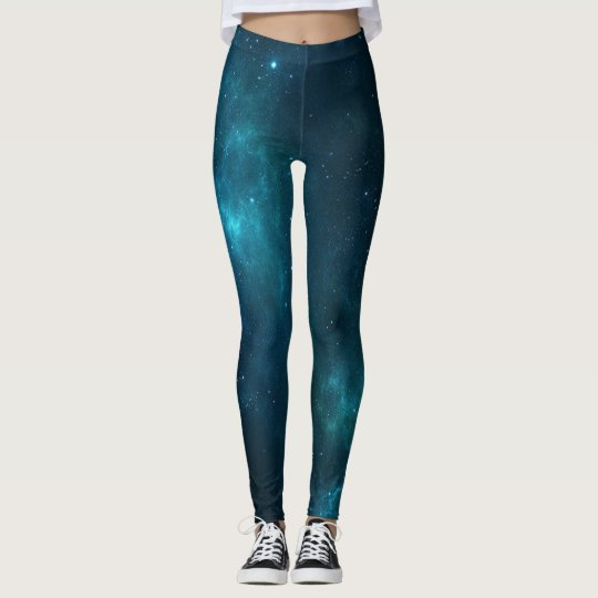 Blue Galaxy Leggins Leggings