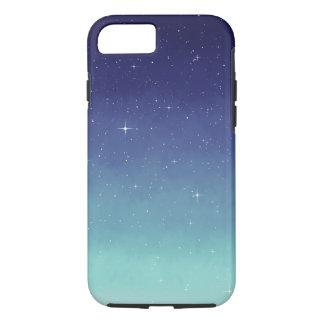 Blue Galaxy Starry Night Sky iPhone 8/7 Case