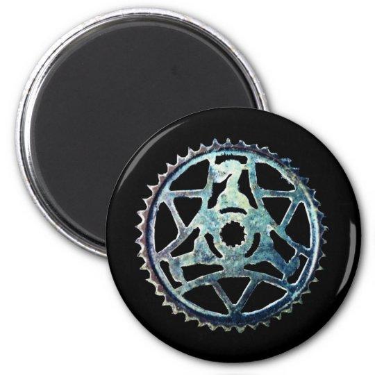 Blue Gear Magnet