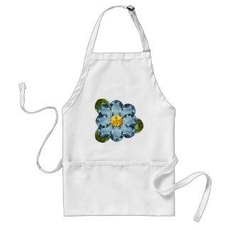 Blue Gem Flower Standard Apron