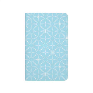 Blue Geo Notebook