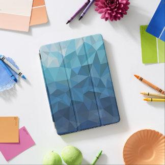 blue geomctric ipad case iPad air cover