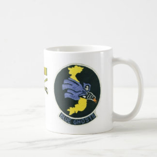 Blue Ghost original patch mug Mug