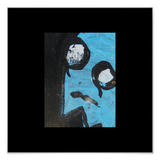 Blue ghost poster