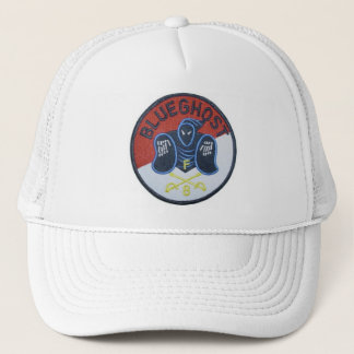 Blue Ghost troop Trucker Hat