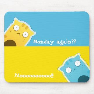 Blue Ginger Cat#2 Mousepad