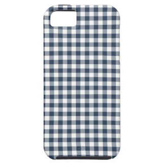Blue Gingham iPhone 5 Cases