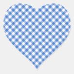 Blue Gingham Pattern