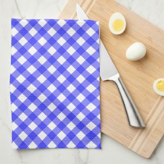 Blue Gingham Tea Towel