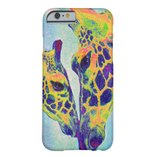 blue giraffe  i-phone barely there iPhone 6 case