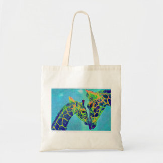 blue giraffes bag