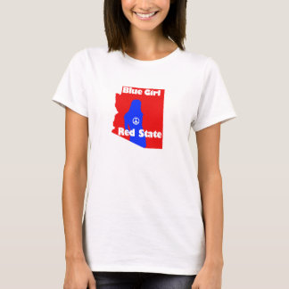 Blue Girl in a Red State - Arizona T-Shirt
