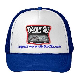 Blue Git Mo' Trucker Hat