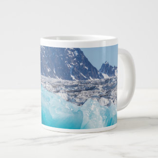 Blue glaceir ice, Norway Large Coffee Mug