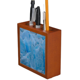 Blue Glacier Desk Organiser