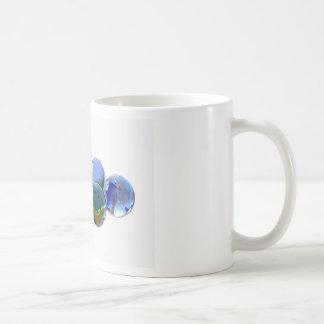 Blue Glass Images Coffee Mug