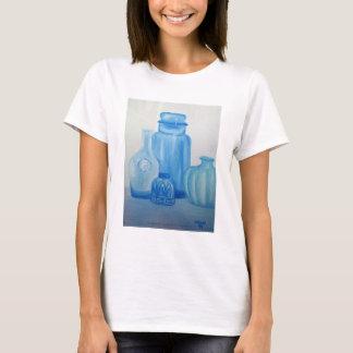 Blue Glass Still Life Apparel T-Shirt