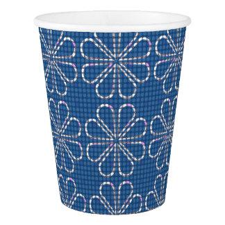 Blue Glasses Paper Cup