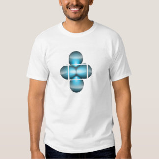 Blue Glazed Mens T-Shirt