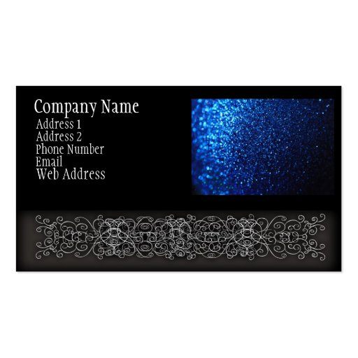 Collections of Glitter Business Cards Business Cards Page5
