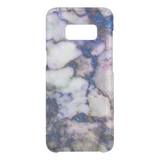 Blue Glitter Gray And Pink Marble Stone Uncommon Samsung Galaxy S8 Case