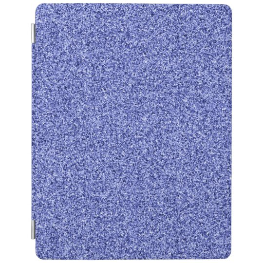 Blue glitter iPad cover