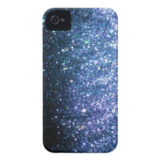 Blue Glitter iPhone Case sparkle