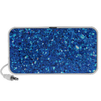Blue Glitter Speakers