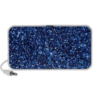 Blue Glitter Travelling Speaker