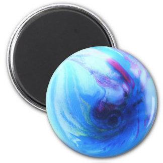 Blue Globe Magnet